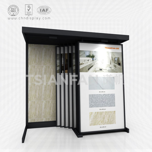 CERAMIC TILE SAMPLE STORE DISPLAY CABINETS,HANGING STYLE DISPLAY-CD2005