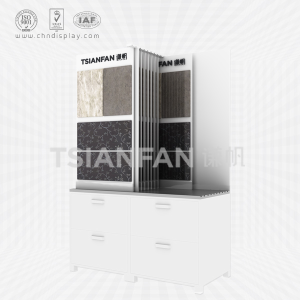 CABINET COMBINATION CERAMIC TILE DISPLAY STAND-CZ2032