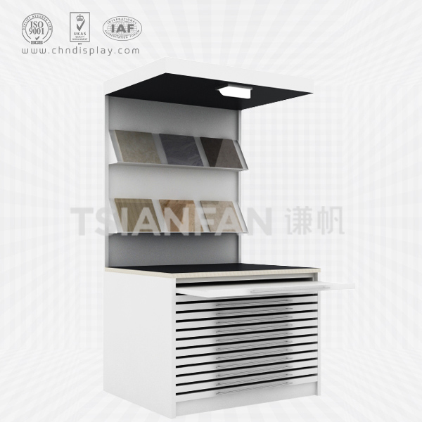TWO LAYER COMBINATION CERAMIC TILE DISPLAY RACK-CZ2029