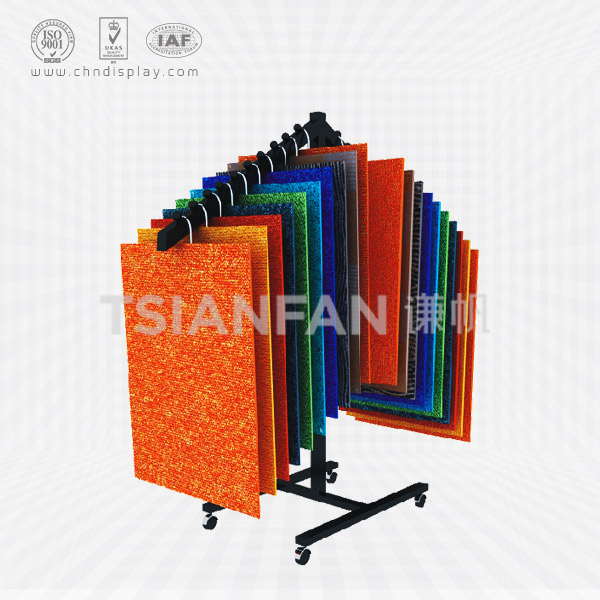 SUPERMARKET FLOOR CARPET DISPLAY RACK,HANGING STYLE-CE2003