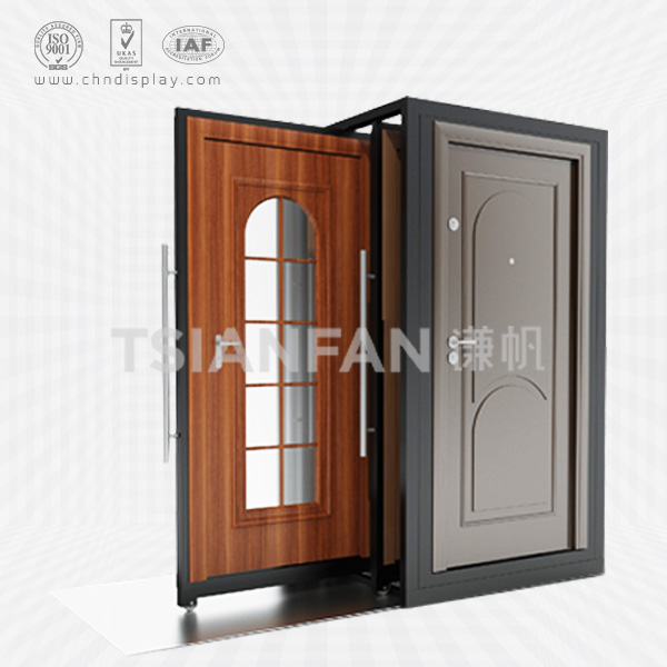 WOOD DOOR DISPLAY FRAME,PUSH AND PULL STYLE-D2014