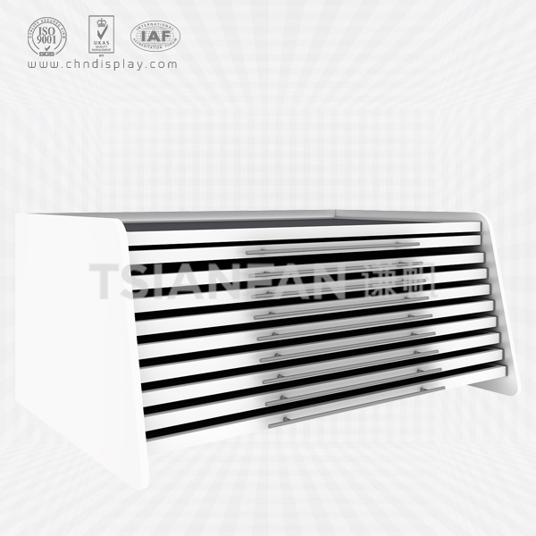 FASHIONABLE CERAMIC TILE 10 FLOORS STEEL LANDING RECLINING DRAWER TYPE SHOWCASE CC2019