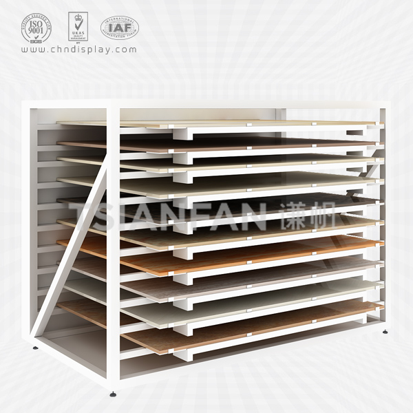FASHIONABLE CERAMIC TILE STEEL LANDING DRAWER TYPE SHOWCASE-CC2016