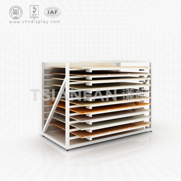 CERAMIC TILE SAMPLE STORE DISPLAY CABINETS,HIGH QUALITY STEEL-CC2016