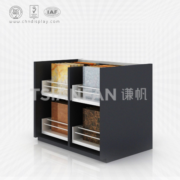 CERAMIC TILE SAMPLE DISPLAY CABINETS, DOUBLE-CC2011