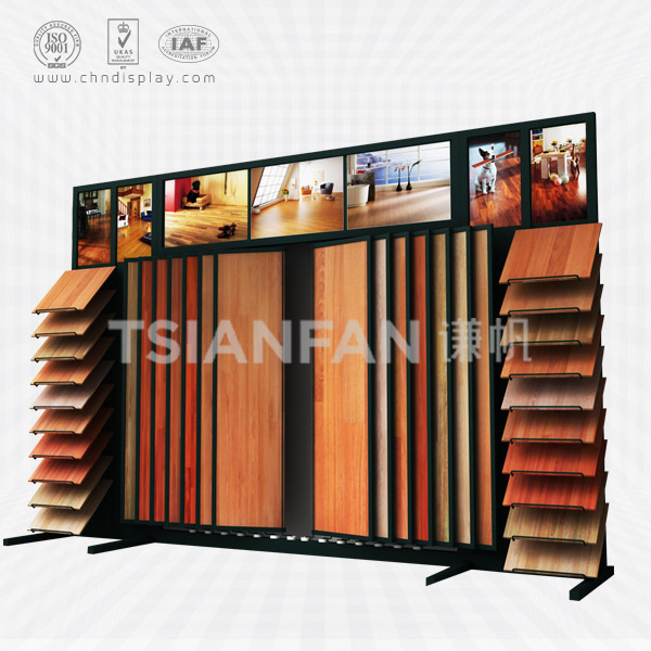 LAMINATE FLOORING STANDING DISPLAY RACK-WZ2022