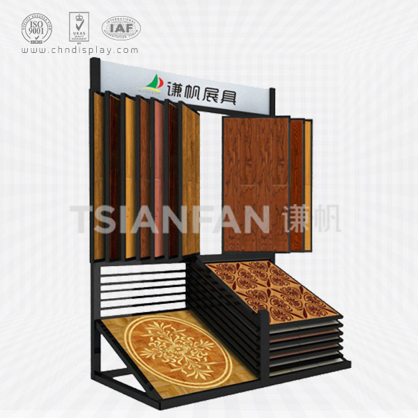 WHOLESALE LAMINATE FLOORING WATERFALL DISPLAY FOR LAMINATE FLOOR TILES MANUFACTURES-WZ2004