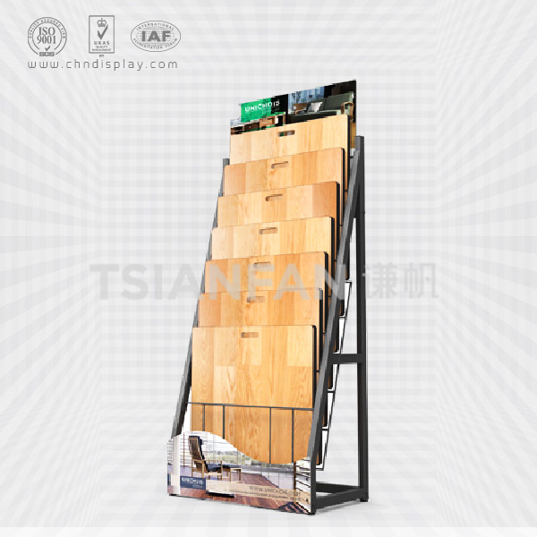 LAMINATE AND WOODEN FLOORING SHOWROOM DISPLAY SYSTEM FOR WOOD FLOOR STORE-WC2049