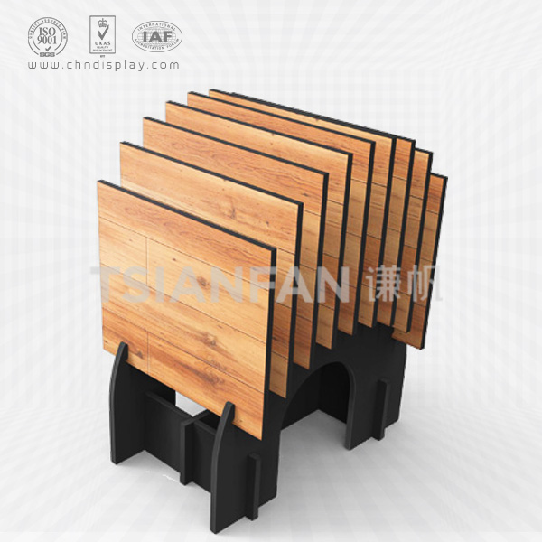DISPLAY STANDS FOR WOOD FLOORING,HAND PANEL SLOT DISPLAYS-WC2026