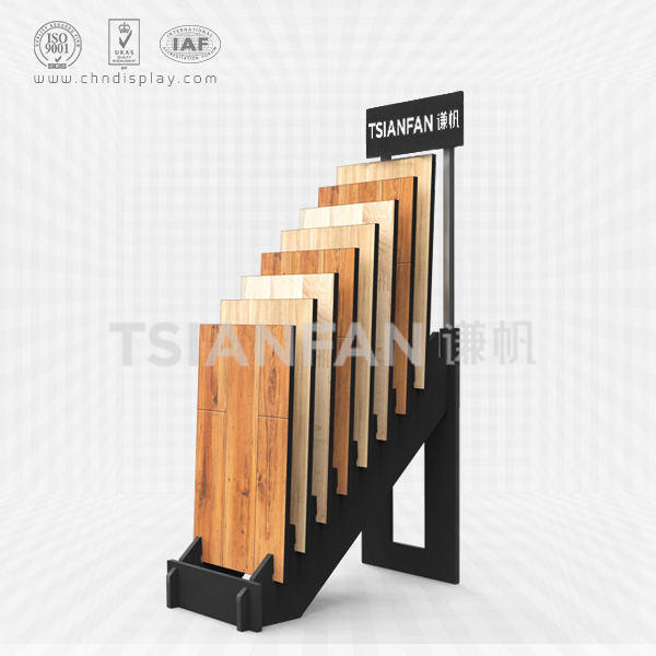 WOOD FLOORING DISPLAY RACK,HAND PANEL SLOT DISPLAYS-WC2023