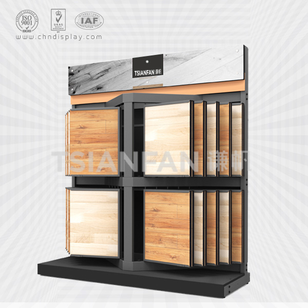 FLOORING SAMPLE DISPLAY RACKS,PAGE TYPE-WF2043