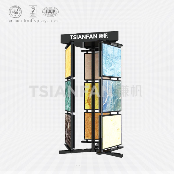 MARBLE SAMPLE ROTATING DISPLAY STAND-SG2009