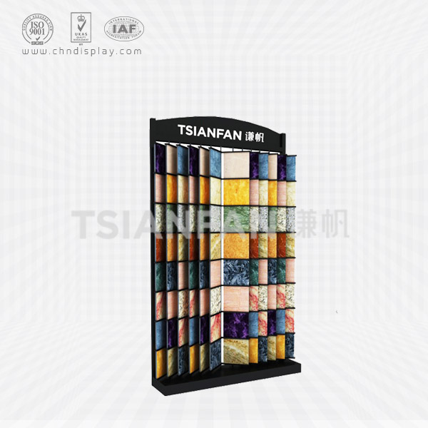 GRANITE SAMPLE FLIP DISPLAY SHELVES,GRANITE SALES STORES-SG2006
