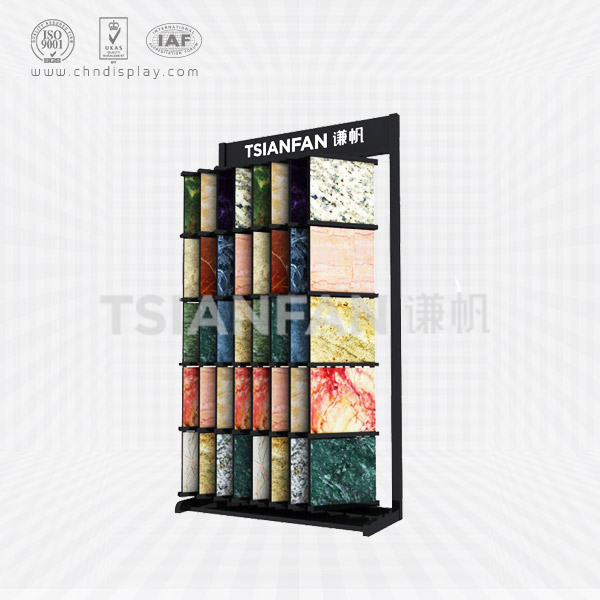 GRANITE SAMPLE FLIP DISPLAY SHELVES-SG2005