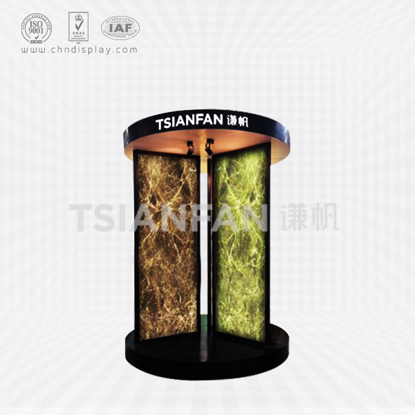 MARBLE SAMPLE ROUND DISPLAY STAND-SD2059