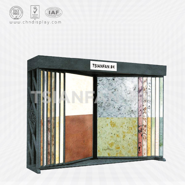 MARBLE COUNTERTOP SAMPLE SLAB DISPLAY RACK-SD2020
