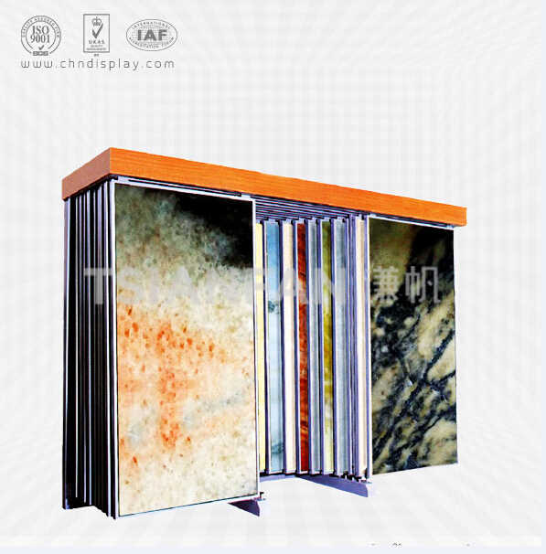 CARRARA MARBLE SAMPLE SLAB DISPLAY RACK-SD2019