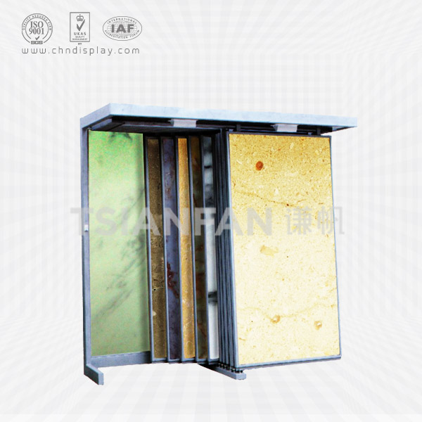 MARBLE SAMPLE TABLE SLAB DISPLAY RACK-SD2017