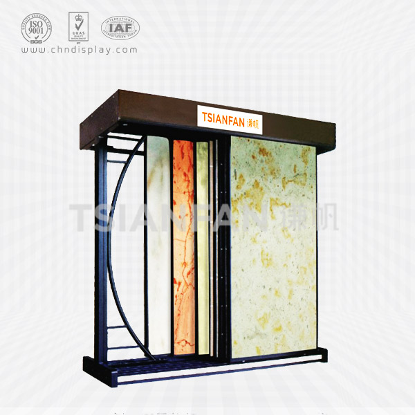 CULTURED MARBLE SAMPLES COUNTERTOP DISPLAY RACKS-SD2014
