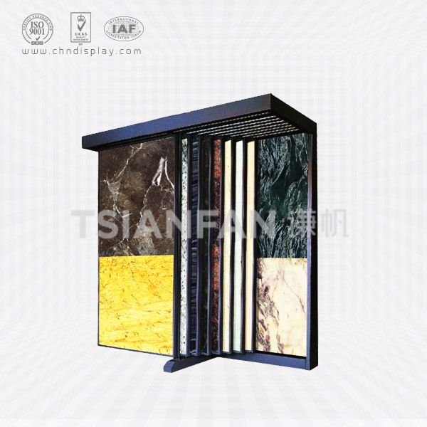 SAMPLE OF MARBLE TILES SLAB RACK SHELF,PUSH AND PULL-SD2005