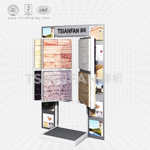 CULTURE STONE FLOOR DISPLAY STAND,OPEN BOOK STYLE-SW2017