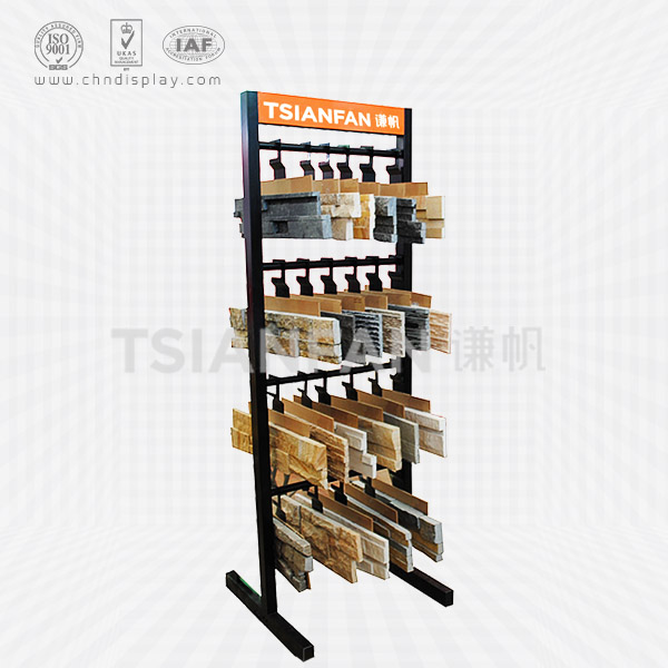 CULTURAL STONE SAMPLES FOUR-TIER SUSPENSION DISPLAY RACK-SW2011