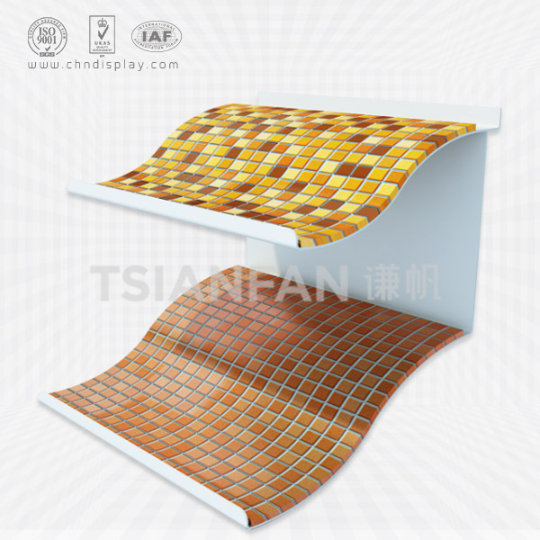 HIGH-GRADE MOSAIC SHOWROOM PLASTIC SAMPLE DISPLAY BOARD-PZ2006