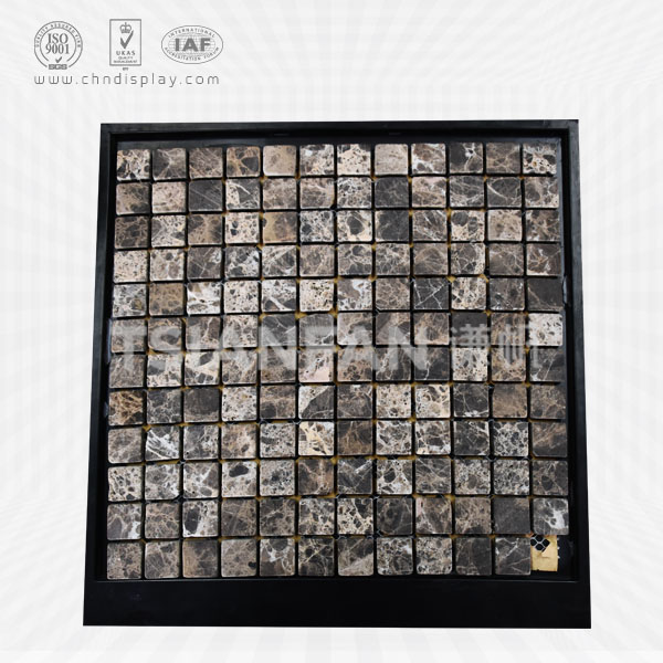 PLASTIC MOSAIC STONE SAMPLE DISPLAY BOARD-PZ2018