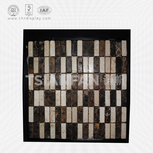 PLASTIC MOSAIC STONE SAMPLE DISPLAY BOARD-PZ2034