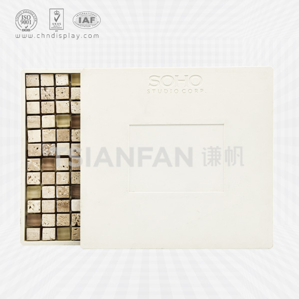 SOHO PLASTIC MOSAIC STONE SAMPLE DISPLAY BOARD-PZ2035
