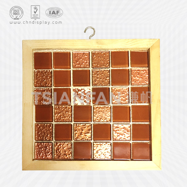 WOOD MOSAIC SAMPLE DISPLAY SIDING-PZ2037
