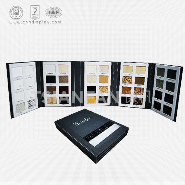 5 PAGES PLASTIC ARTIFICIAL STONE SAMPLE FOLDER-PY2006