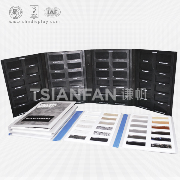 4 PAGES PLASTIC GRANITE SAMPLE BOOK-PY2005