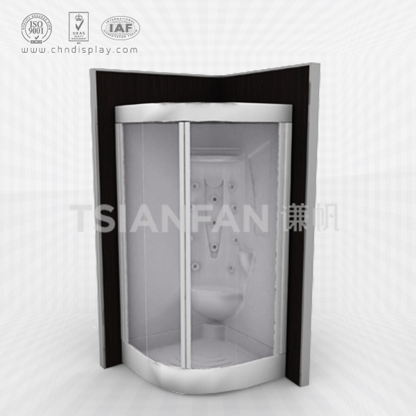 STAINLESS STEEL BATHROOM SAMPLE DISPLAY ROOM-SY2034