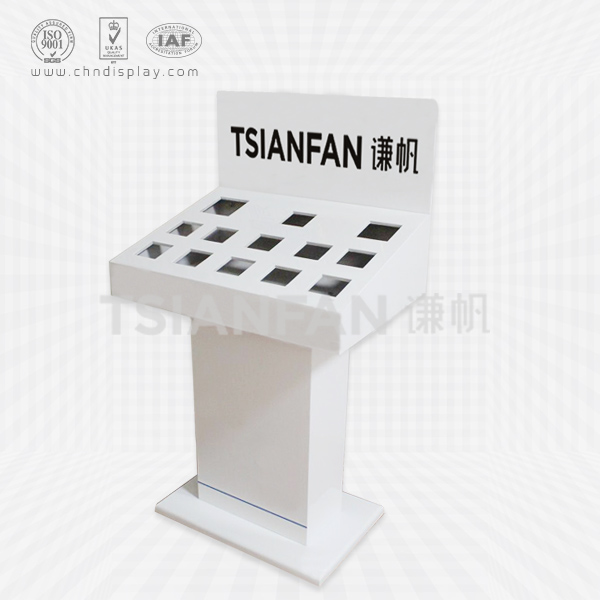 PROFESSIONAL METAL DISPLAY STANDS FOR FAUCETS BATHROOM FLOOR DRAIN DISPLAY STAND-FD2008