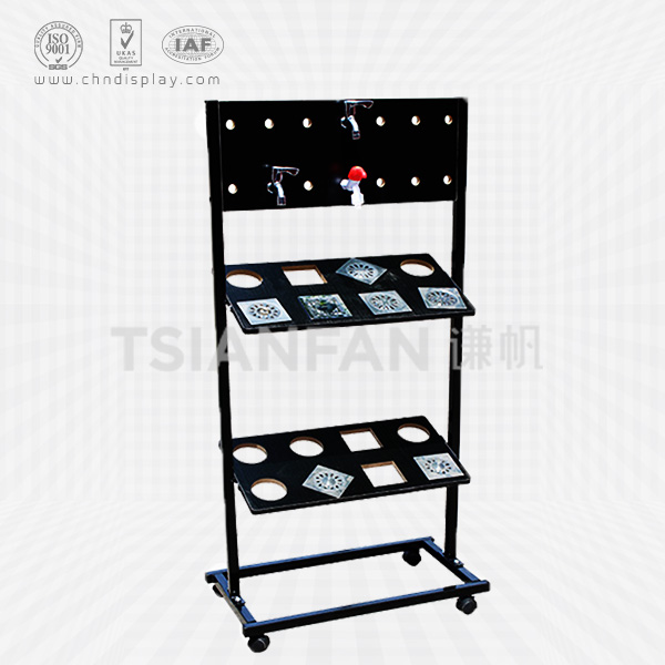 DOUBLE FLOOR DRAIN DISPLAY STAND-FD2001