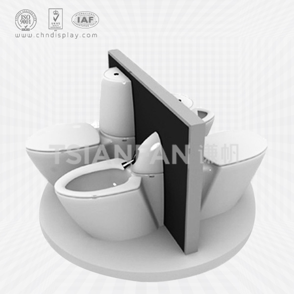 BEST SELLING TOILET DISPLAY RACK/TOILET SEAT DISPLAY RACK-VM2001