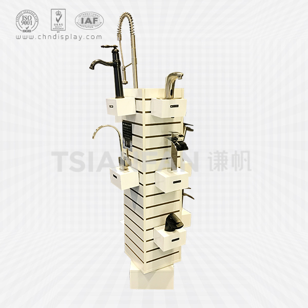 NEW MODERN MDF FAUCET DISPLAY STAND RACK FOR FAUCET SALE FOR PROMOTION-VL2024