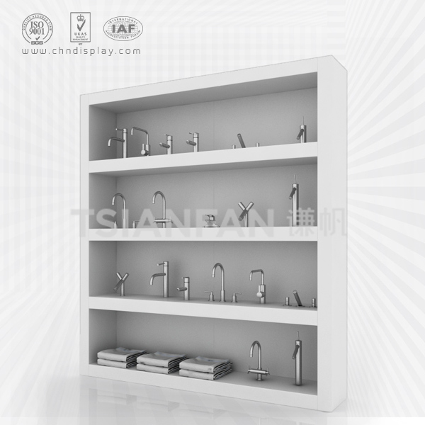 HIGH QUALITY MDF FAUCET DISPLAY STAND/SANITARY WARE DISPLAY STAND-VL2022