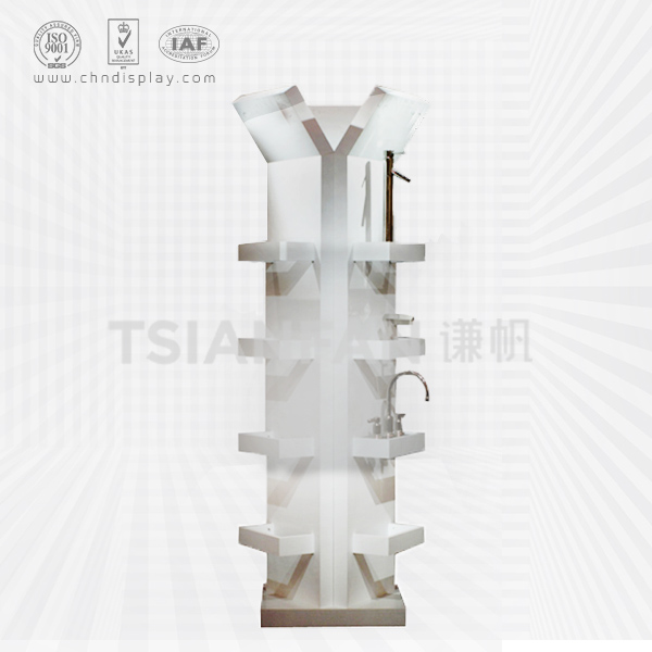 CUSTOMIZED MDF DISPLAY STAND FOR FAUCET-VL2016