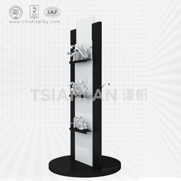 BLACK FAUCET DISPLAY STAND,DOUBLE-SIDED-VL2001