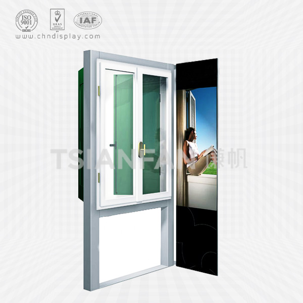 HIGH QUALITY METAL DOOR AND WINDOW EXIBITION FRAME DISPLAY RACK-W2002