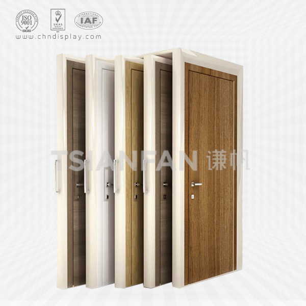 WOOD DOOR DISPLAY,PUSH AND PULL STYLE-D2002
