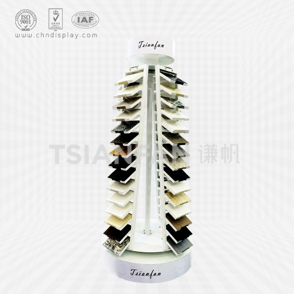 QUARTZ STONE SAMPLE DISPLAY TOWER,YOU CAN TURN-SRL147