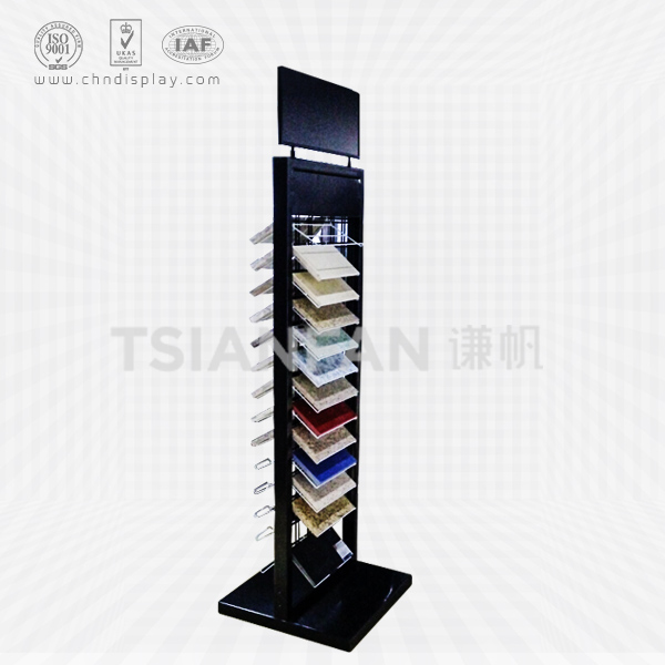 ARTIFICIAL QUARTZ STONE SAMPLE DISPLAY STAND-SRL2019