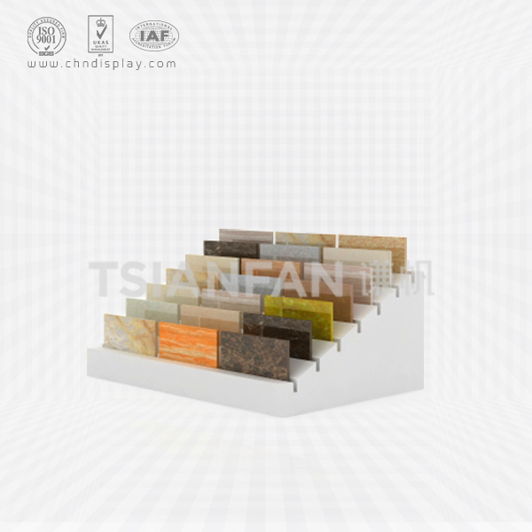 CERAMIC TILE COUNTERTOP DISPLAY RACK SIMPLE SAMPLE BLOCK-E2034
