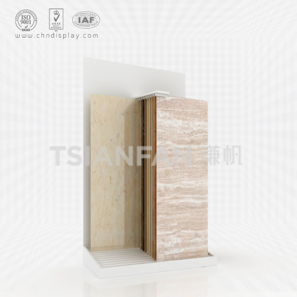 CERAMIC TILE SIMPLE SLIDING DISPLAY RACK-E2035
