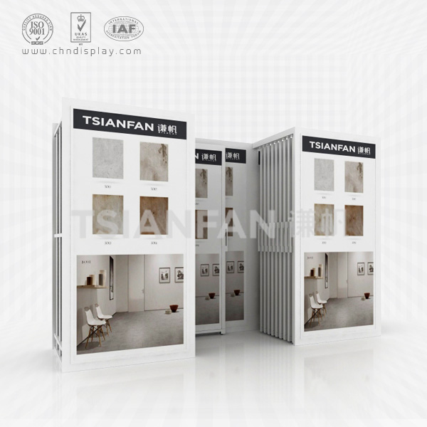 CERAMIC TILE STORE OPENING CEREMONY SAMPLE DISPLAY STAND-CT2043