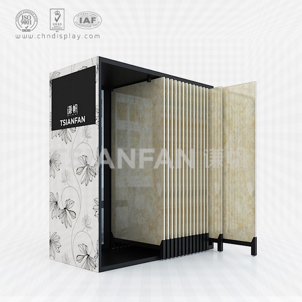 CERAMIC TILE SHOWCASE DISPLAY,PULLED OUT BY THE WALL STYLE-CT2026