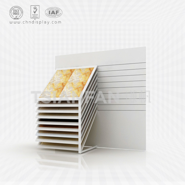 RECESSED CERAMIC TILE SAMPLE DISPLAY RACK,HOT DEALS-CX2003